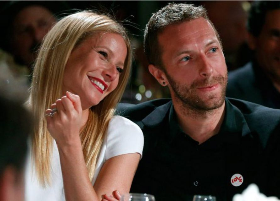 Gwyneth y Chris. Fuente: